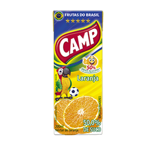 Camp Néctar Laranja   200ml