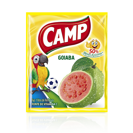 Refresco Camp Goiaba  15g