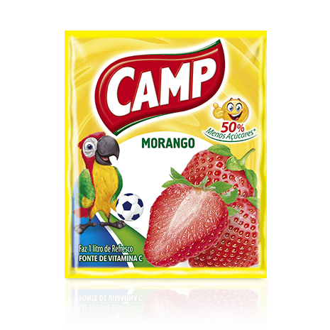 Refresco Camp Morango  15g