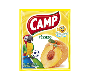 Refresco Camp Pêssego   15g