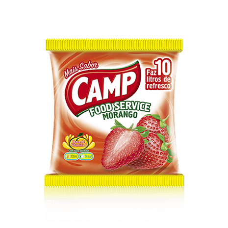 Camp Food Service Morango  150g