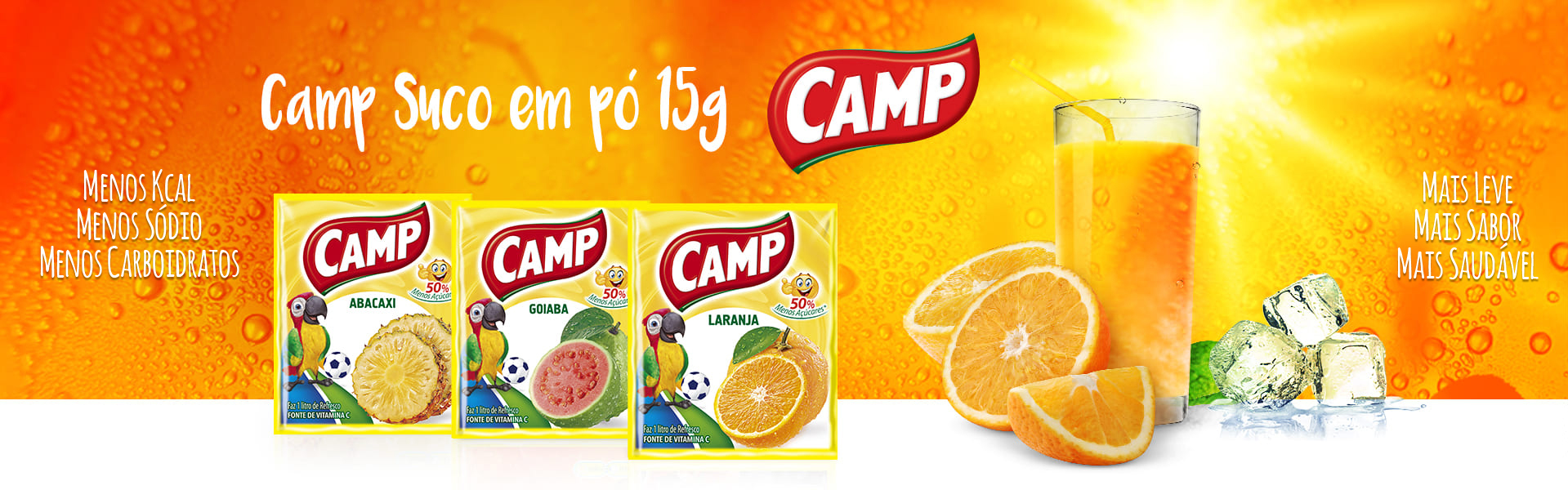 Refresco Camp - 15g