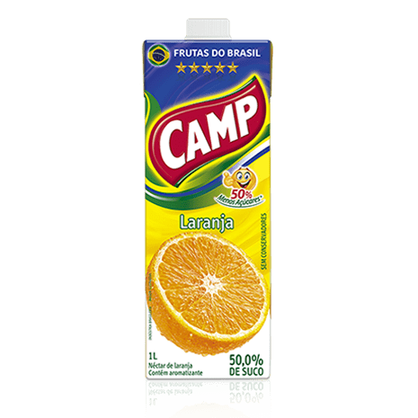 Camp Néctar Laranja  1l