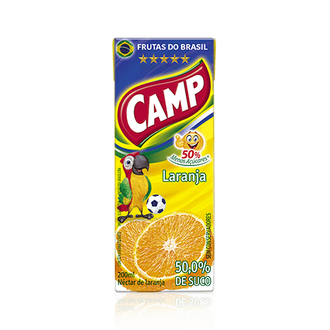 Camp Néctar Laranja  200ml