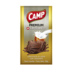 Camp Chocolate Crocante   80g